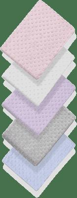INTERBABY deka extra měkká kuličky 80x110 - fialová