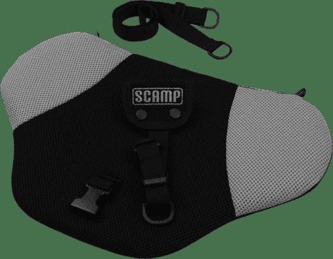SCAMP Bezpečnostný pás pre tehotné - Čierno / šedý