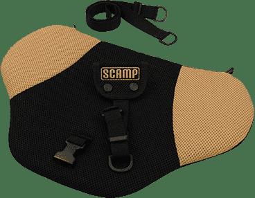 SCAMP Bezpečnostný pás pre tehotné - Čierno / béžový