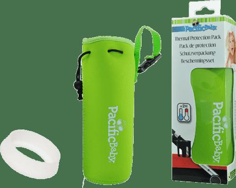PACIFIC BABY Termoobal PACIFIC BABY + ochrana fľaše Zelený