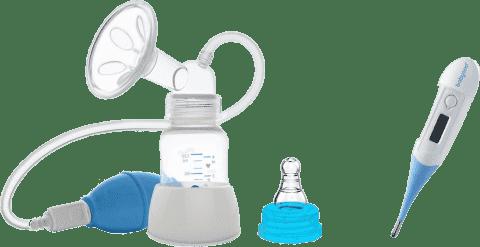 BABY ONO Odsávačka materského mlieka manuálna + teplomer digitálny