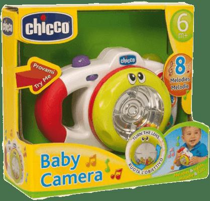 CHICCO Fotoaparát 8 melódií
