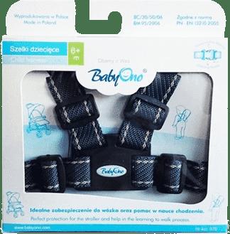 BABY ONO Popruhy na dítě – tmavě modré, 6m+