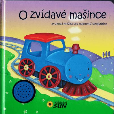 KNIHA Zvuková knižka - O zvedavej mašinke