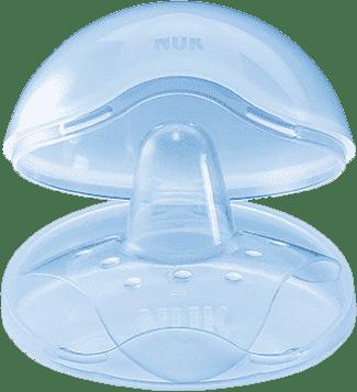 NUK Prsní klobouček silikon + box (2 ks), velikost M