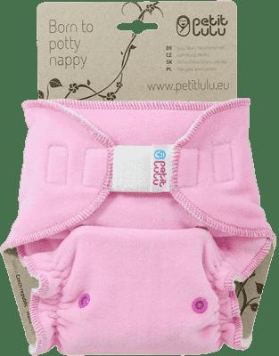PETIT LULU Ružová mačička (velúr) - nohavičková plienka sz