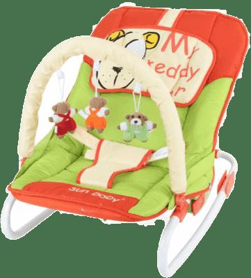 SUN BABY Dziecięcy leżaczek Safari – Bear