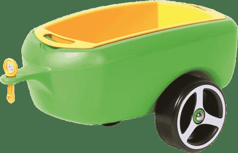 BRUMEE Przyczepka do jeździka BRUMEE CAREE zielona