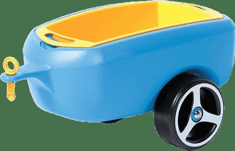 BRUMEE Przyczepka do jeździka BRUMEE CAREE niebieska