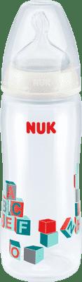 NUK First Choice + PP 360ml fľaša - biela