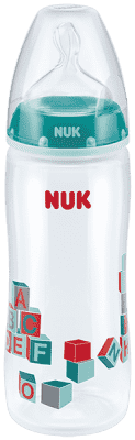 NUK First Choice + PP 360ml fľaša - zelená