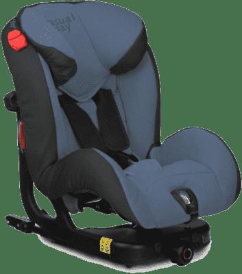 CASUALPLAY Fotelik samochodowy BeatFix 9-25 kg 2016 - Blue steel