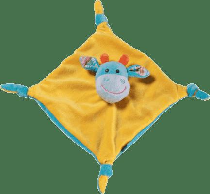 BABY ONO Hračka maznáčik - oranžovo-modrá, 0m+