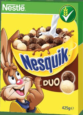 NESTLÉ Płatki Nesquik Duo 425 g