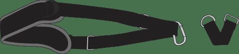 DOOKY Nosiciel Carrier Black/Grey