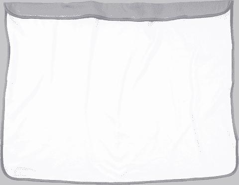 DOOKY Blanket kocyk Creme/Grey