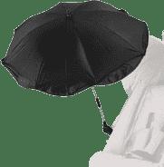 DIAGO Parasolka przeciwsłoneczna do wózka – czarna