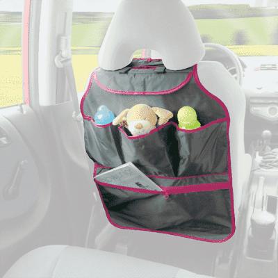 DIAGO Organizér do auta - ružová