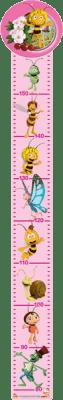 BINO Miarka wyrostu – Pszczółka Maja (różowy)