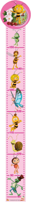 BINO Metr - Včelka Mája, růžový