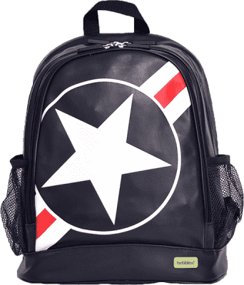 BOBBLE ART Dětský batoh PVC velký Hvězda