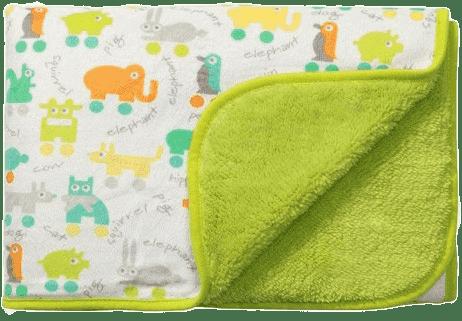 BABY ONO Deka oboustranná – zelená