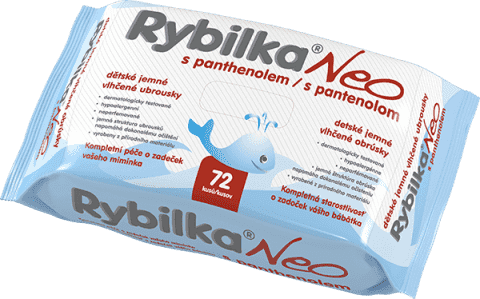 HBFRybilka NEO z Panthenolem 72 szt. - chusteczki nawilżane