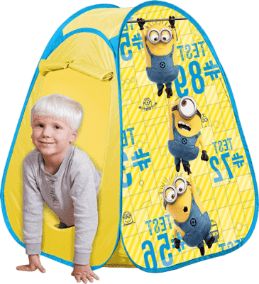 JOHN POP UP detský stan Mimoňovia 75 x 75 x 90cm
