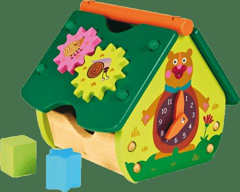 OOPS The Happy House! - Drewniany domek Las