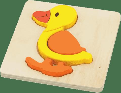 STUDO WOOD Puzzle kachna