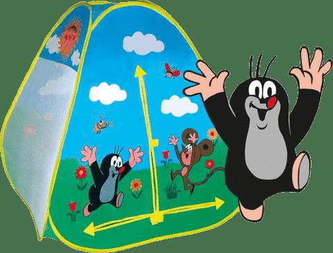 WIKY Dziecięcy namiot Krecik