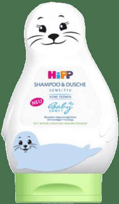 HIPP Babysanft Szampon do Włosów & Ciała (LACHTAN) 200 ml