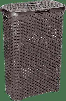 CURVER Kôš na bielizeň Natural Style 40l, hnedý