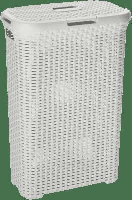 CURVER Kosz na pranie Natural Style 40l, biały