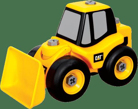 NIKKO CAT Samochód ciężarowy z wkrętarką, 39cm