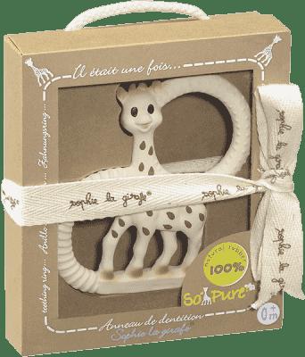 VULLI Extra mäkké Hryzátko žirafa Sophie z kolekcie So Pure