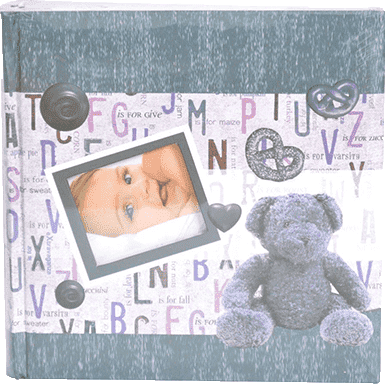 FOTOALBUM detský 10x15/200 foto – modrý