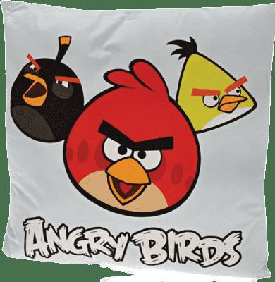 MIKRO TRADING Poduszka Angry Birds – niebieska