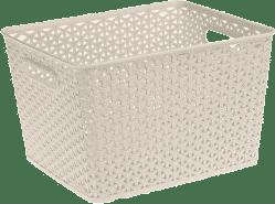 CURVER Košík My Style Box L, biely