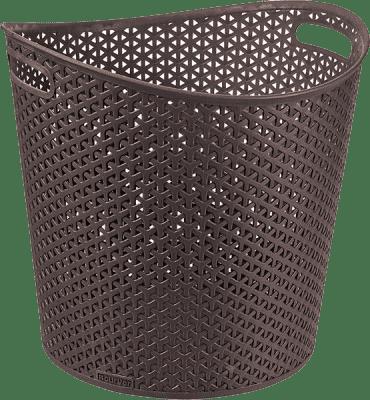 CURVER Kosz na pranie My Style 30l, brązowy
