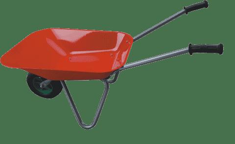HM STUDIO Taczka ogrodowa 80 cm - narzędzia ogrodowe