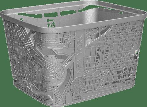 CURVER Koszyk City Box New York, szary