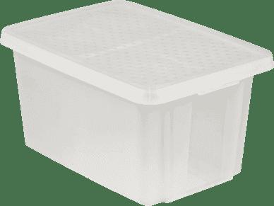 CURVER Úložný box s víkem Essentials 45l, průhledný
