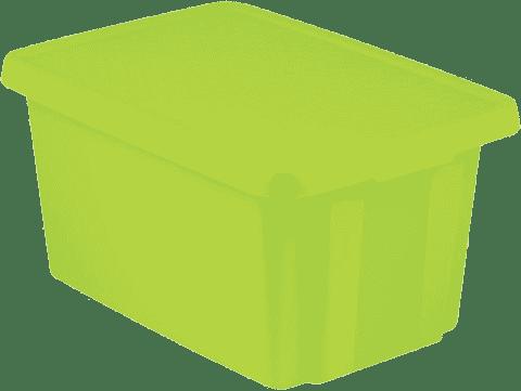 CURVER Úložný box s vekom Essentials 45l, zelený