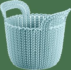 CURVER Košík guľatý Knit 3l, modrý