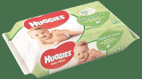 HUGGIES® Single Natural Care, 56 ks - vlhčené ubrousky