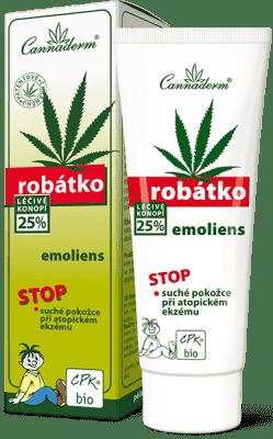 CANNADERM Robátko emoliens 75g