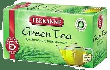 TEEKANNE Zelený čaj, 20 vrecúšok