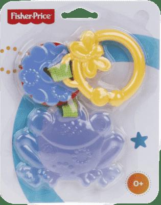 FISHER-PRICE Kolekce závěsných chrastítek ASST 1 – žába