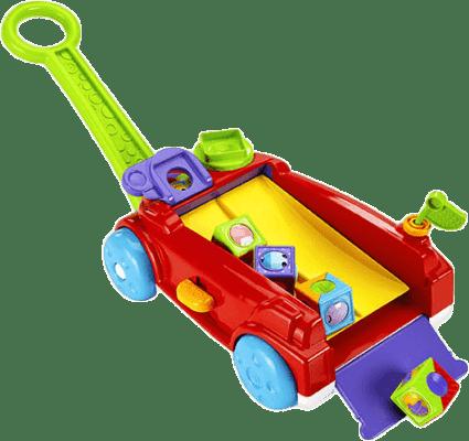 FISHER-PRICE Vozík s kostkami